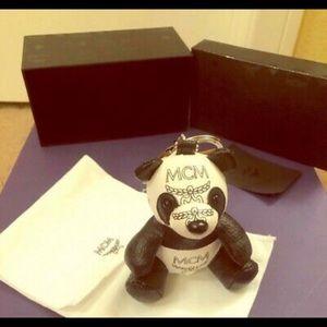 Mcm Panda Key Charm